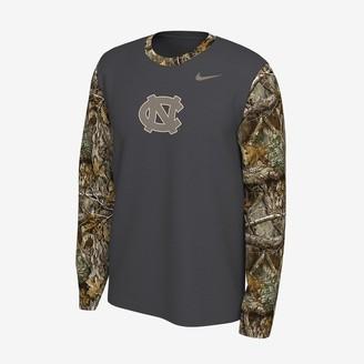 Nike Men's Long-Sleeve T-Shirt Jordan College (UNC) Realtree