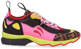 Fendi FFreedom colour block sneakers