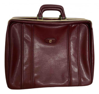 Pierre Cardin Burgundy Synthetic Travel bags