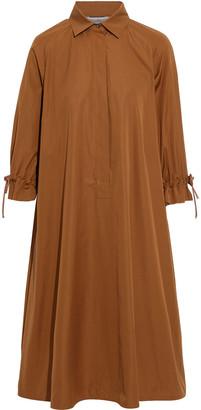 Max Mara Molina Cotton-poplin Shirt Dress