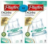 Energizer Playtex Drop-Ins Pre-Sterilized Disposable Liners 8-10 OZ: 50 Count (PACK OF 2)