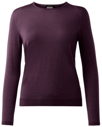 Akris Cashmere & Silk Seamless Pullover Sweater