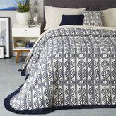 west elm Circle Stripe Bedspread