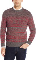 Woolrich Men's Cross Country Fair Isle Crew Sweater