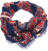 Balenciaga pattern print scarf