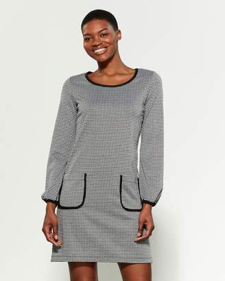 Vince Camuto Houndstooth Shift Dress
