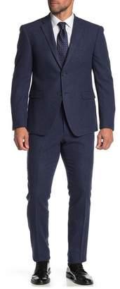 Original Penguin Solid Wool 2-Piece Trim Fit Suit