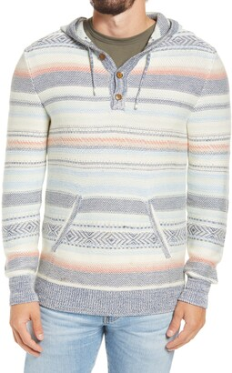 Faherty Brand Cove Sweater Poncho