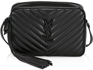 Saint Laurent Lou Matelasse Leather Camera Bag