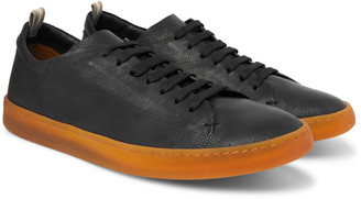 Officine Creative Karma Full-Grain Leather Sneakers