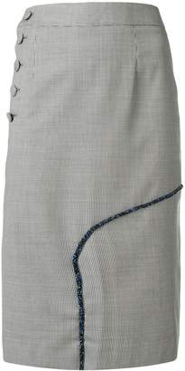 Each X Other houndstooth pencil skirt