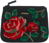 Cath Kidston Ardingly Rose Rose Embroidered Zip Purse