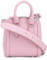 Alexander McQueen mini Heroine tote - women - Calf Leather/Leather/Suede - One Size