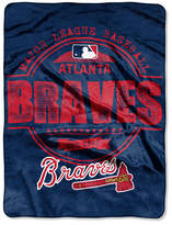 Northwest Company Atlanta Braves Micro Raschel Structure Blanket