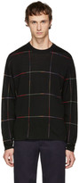 Paul Smith Black Grid Sweater