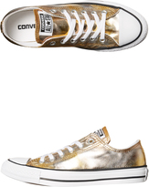 Converse Womens Chuck Taylor All Star Shoe Gold