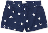 Ralph Lauren Star Printed French Terry Shorts, Big Girls (7-16)