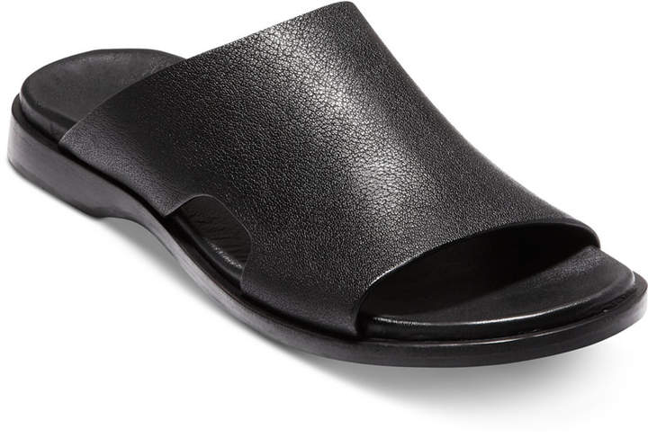 Zerogrand Stitchlite Thong Sandal 黒 Knit/ メンズ