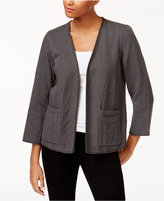 Eileen Fisher Organic Cotton Reversible Jacket