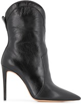 Alexandre Birman Rounded-Top Ankle Boots