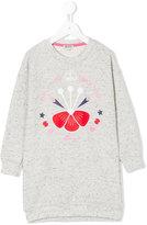 Kenzo Only You sweatshirt dress - kids - Cotton/Polyester - 2 yrs