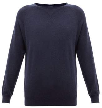 Max Mara Leisure - Polka Sweatshirt - Womens - Navy