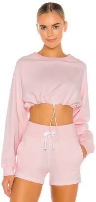lilybod x REVOLVE Carla Oversized Crop Sweatshirt
