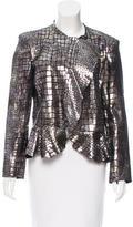 Isabel Marant Metallic Leather Jacket