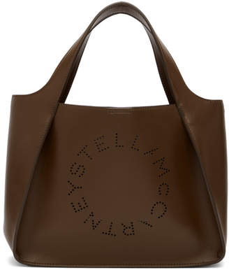 Stella McCartney Brown Logo Tote