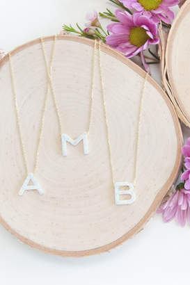 Lotus Jewelry Aurora Letter Necklaces