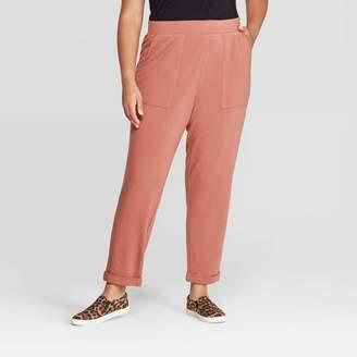 Ava & Viv Women's Plus Size Knit Jogger Pants - Ava & VivTM