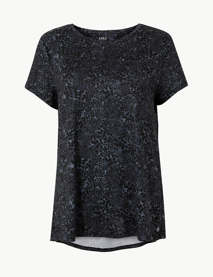 Marks and Spencer Quick Dry Short Sleeve Sport Top