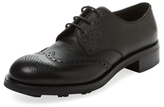 Prada Brogue Wingtip Derby Shoe