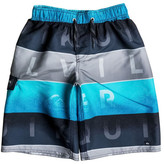 Quiksilver Word Blocked Swim Trunks (Big Boys)