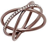 Michael Kors Sable Crisscross Ring