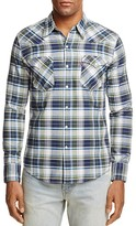 Levi's Barstow Western Plaid Regular Fit Snap Front Shirt