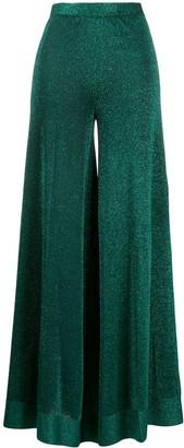 Missoni Glitter-Effect Flared Trousers