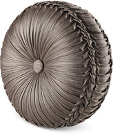 J Queen New York Stafford Tufted Round Decorative Pillow