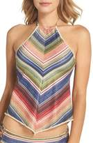 Becca Women's West Village Halter Tankini Top