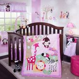 Lambs & Ivy Jelly Bean Jungle Crib Bedding Collection