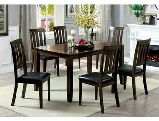 Millwood Pines Devon Wooden 7 Piece Counter Height Dining Table Set Millwood Pines