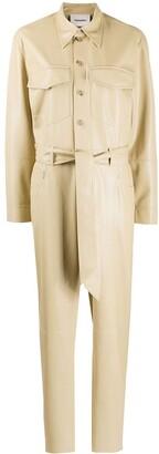 Nanushka Belted Workwear Jumpsuit