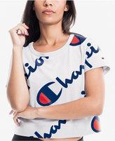 Champion Cotton Cropped Logo T-Shirt