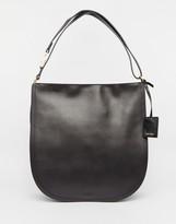 Calvin Klein Leather Hobo Bag
