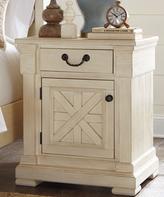 Signature Design by Ashley Antique White Bolanburg Night Table