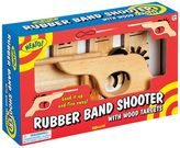 Toysmith Rubber Band Shooter & Wooden Target Set