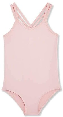 Joe Fresh Kid Girls Active Bodysuit, JF Perennial Pink (Size L)