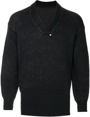 Fake Alpha Vintage 1930's v-neck jumper