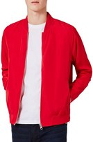 Topman Men's Zip Hem Bomber Jacket