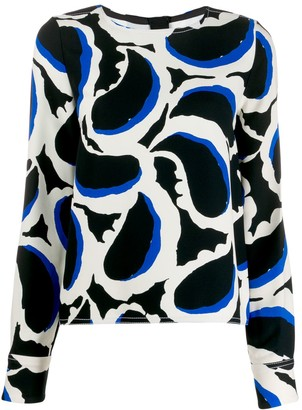 Marni Paisley-Printed Blouse